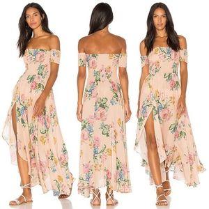 New Auguste Boheme Goddess Delilah Dress Pink 6 XS